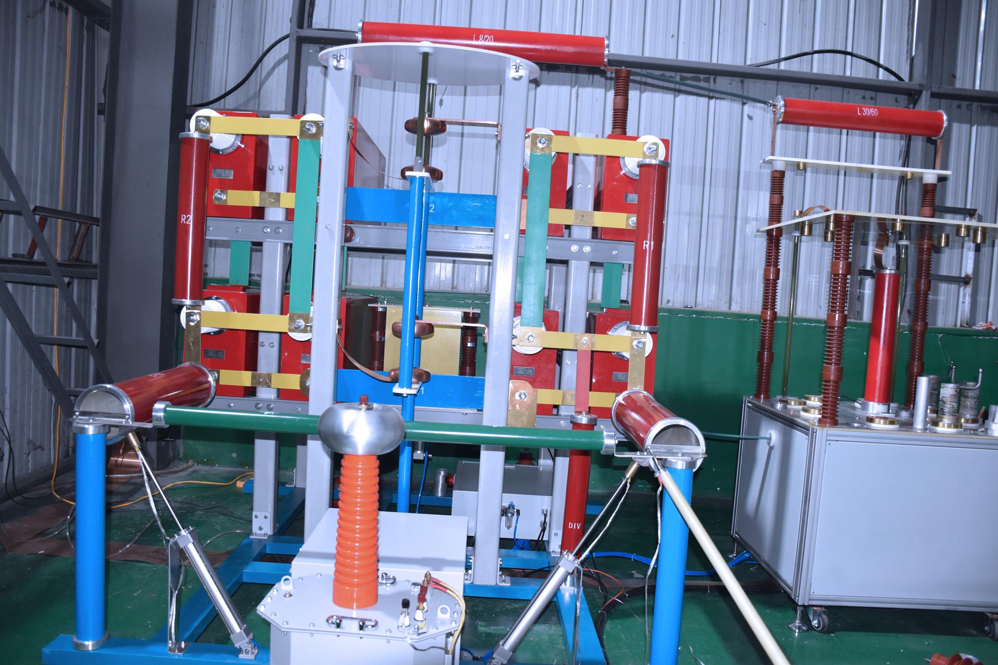 氧化xin避雷器冲ji电liushi验系统
